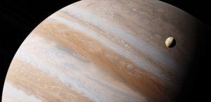 Der Jupiter ist der größte Planet unseres Sonnensystems.