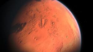 Der Mars hat eine kämpferische Bedeutung in der Astrologie.