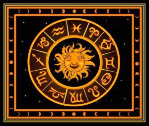 Quadraten der Astrologie, man unterscheidet 4 die man jeweils in 3 weiter unterteilt und so 12 Tierkreiszeichen erhält.