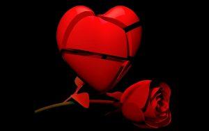 Ist das Herz gebrochen, sollte man den Ex meiden.