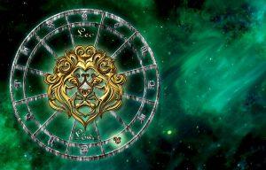 Die Sternzeichen werden, wie hier der Löwe durch die Sonne, von den Planeten beeinflusst.