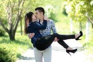 Welche Sternzeichen können gut mit einander beim Küssen.