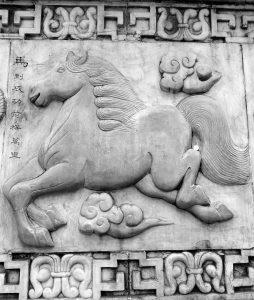Das Pferd gilt im chinesischen Horoskop als aufbrausend.